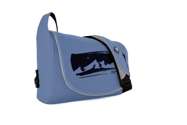 Mountain Chain blue melange