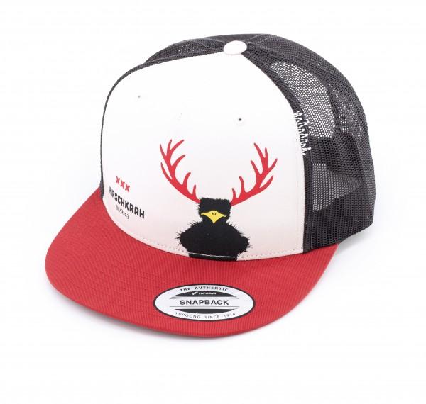 Cap Hirschkrah red/black