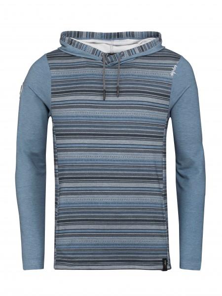 Mellow Stripes dark blue melange