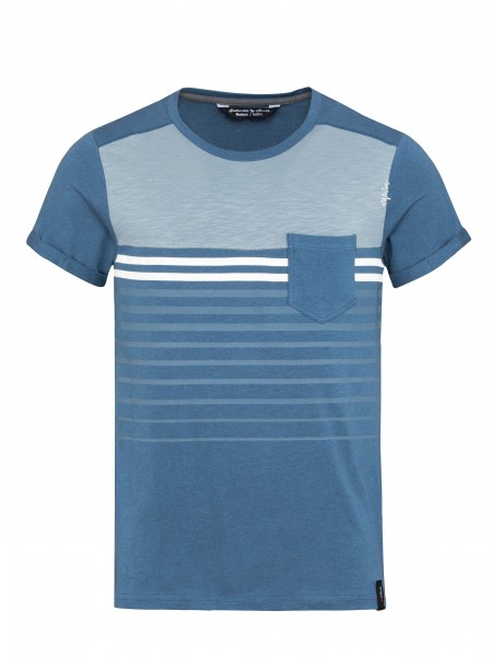 Street Stripes dark blue melange