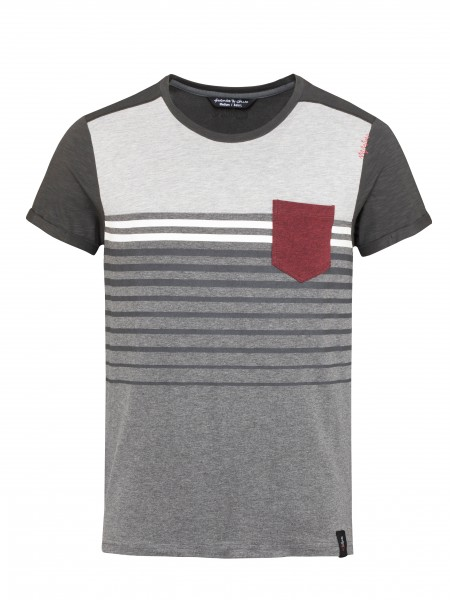 Street Stripes anthrazit melange/black