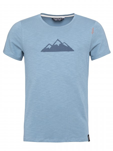 T-Shirt Tyrol Mountain blue